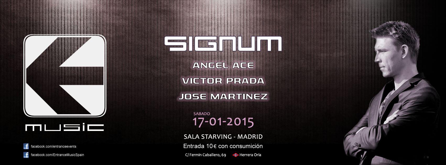 Entrance estrena 2015 con Signum