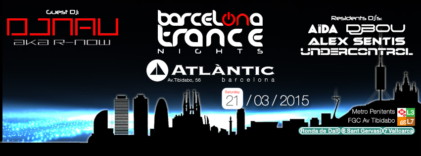 Barcelona Trance Nights marzo 2015