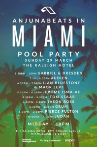 Miami Pool Party 2015