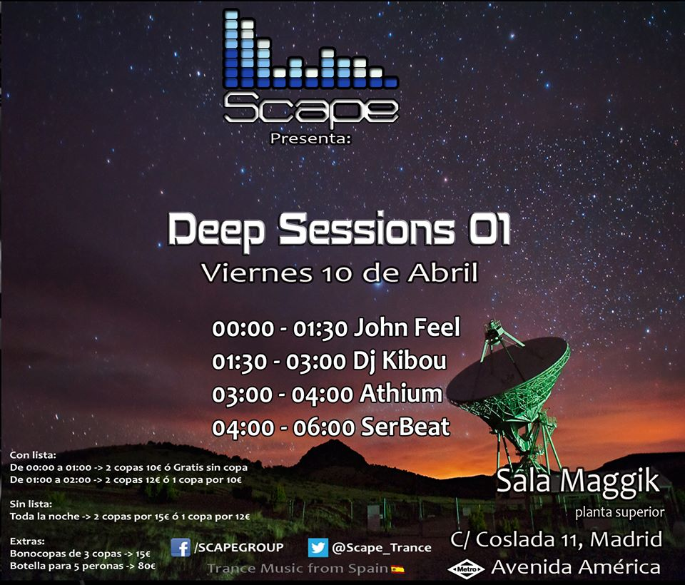 Scape Deep Sessions 01