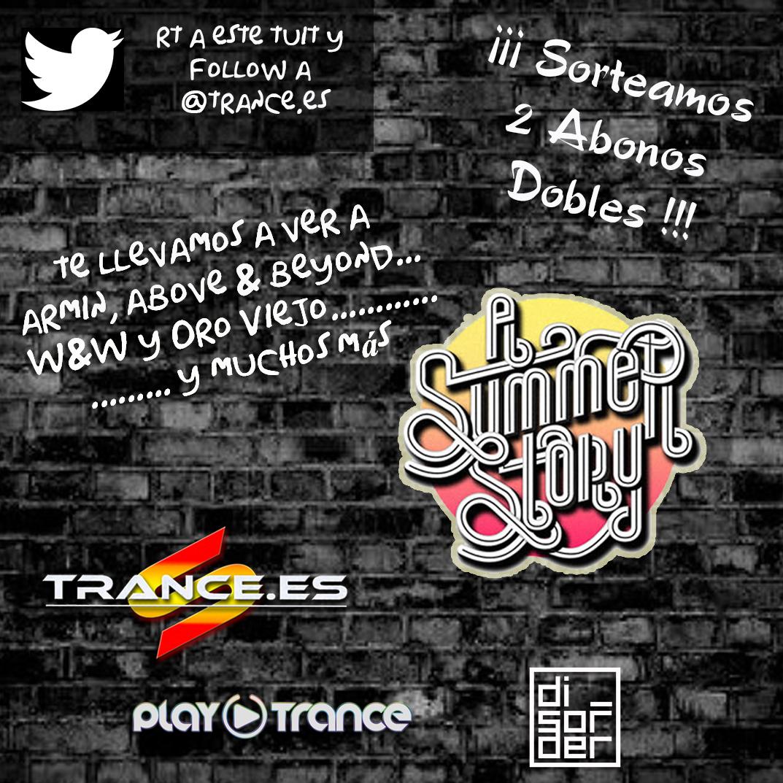 "Sorteo ""A Summer Story"" Trance.es"