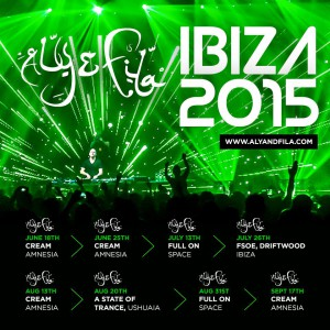 Todas las fechas en la que podrás ver a Aly & Fila este verano en Ibiza