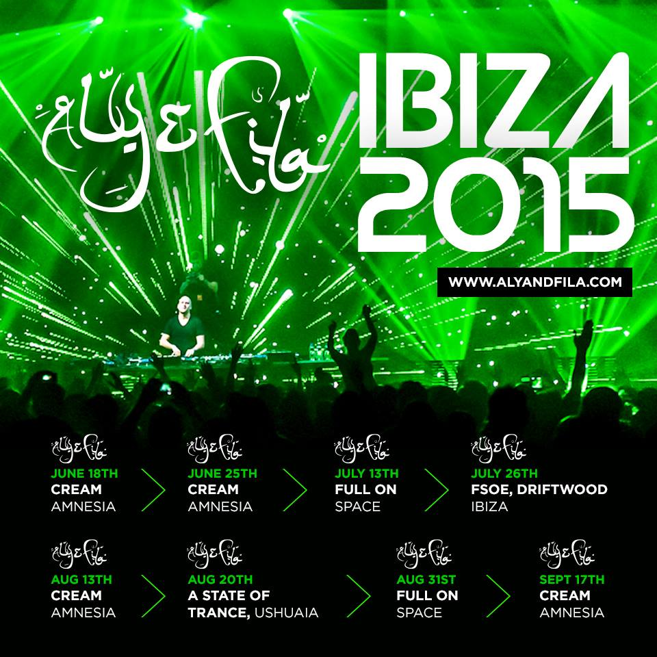 Aly and Fila Ibiza 2015