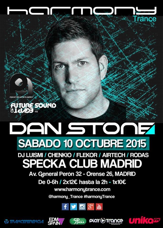 Arranca la nueva temporada de Harmony en Madrid con Dan Stone
