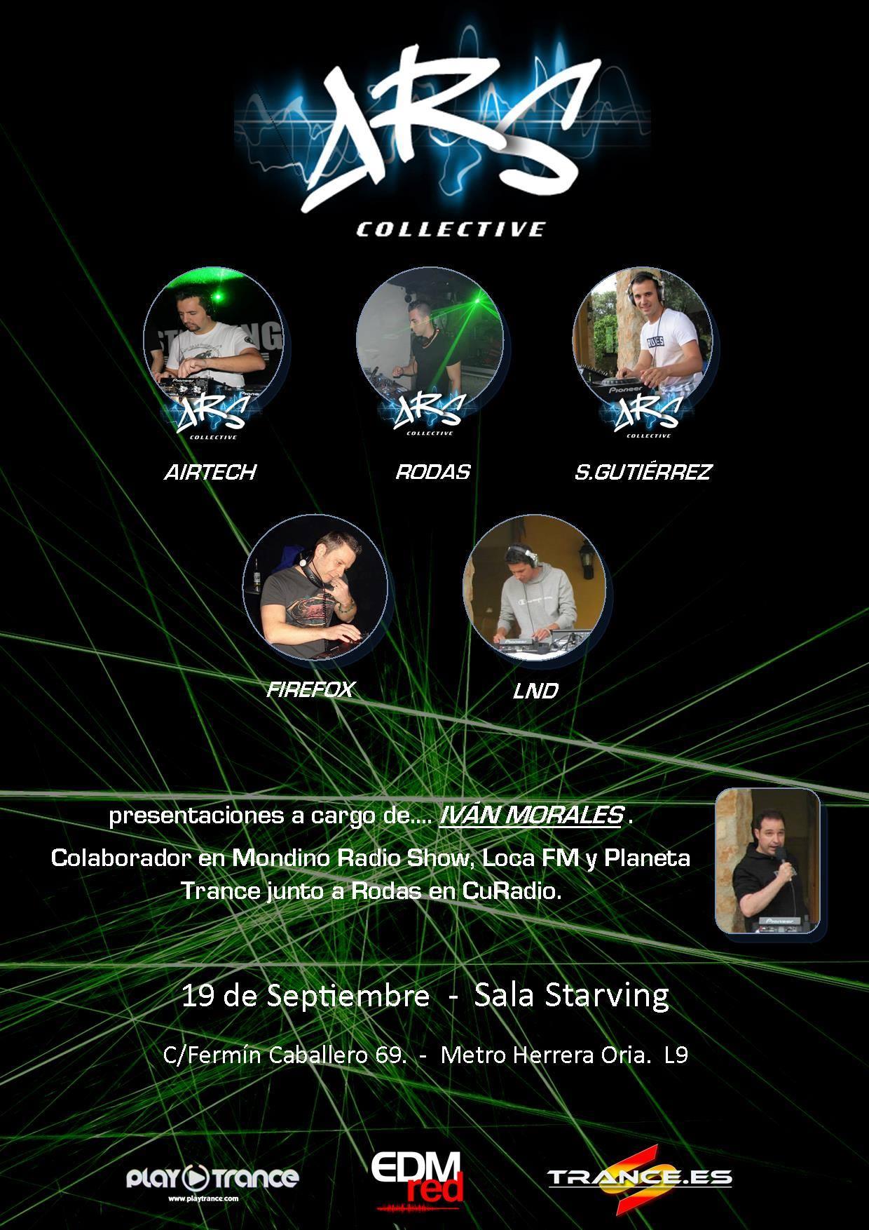 A.R.S.: Nace un nuevo colectivo de trance en Madrid