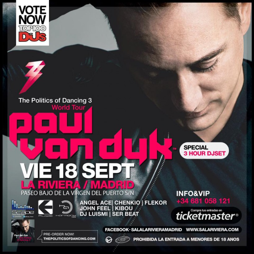 Paul van Dyk Madrid 2015
