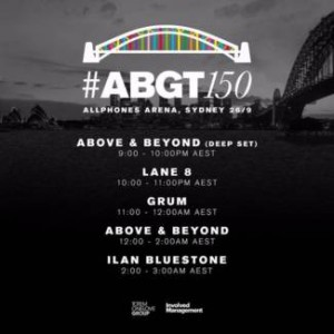 Above & Beyond pres. Group Therapy 150 (Sydney, Australia)