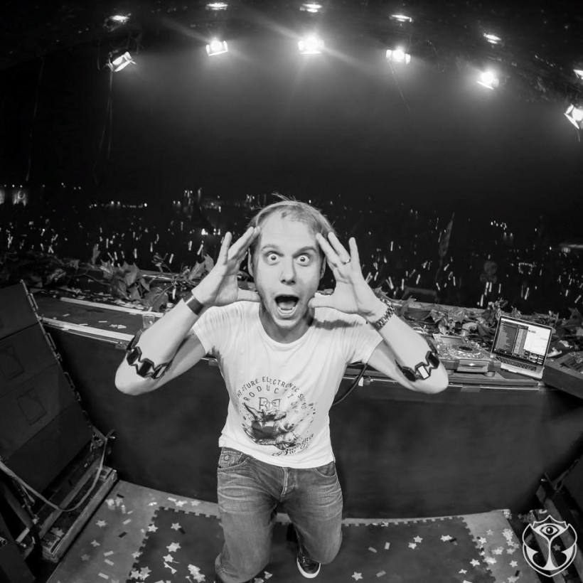 Armin van Buuren at Tomorrowland 2015
