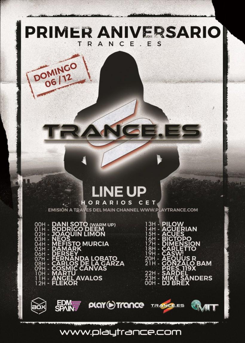 Primer aniversario Trance.es