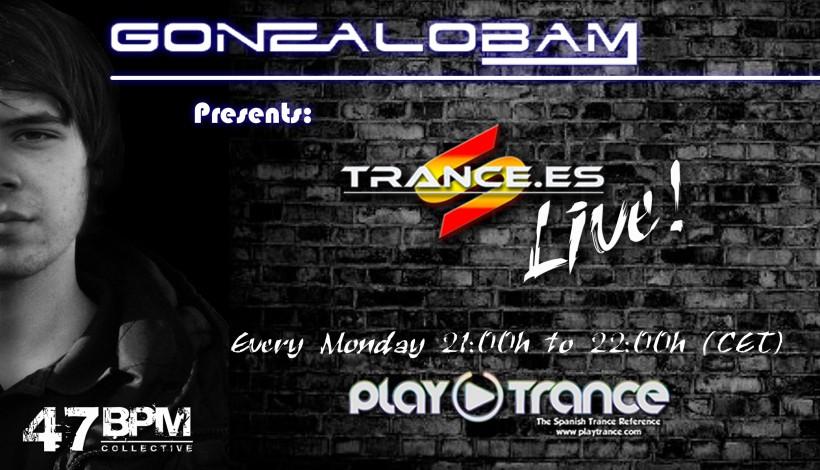 Gonzalo Bam pres Trance.es Live 1 Temp