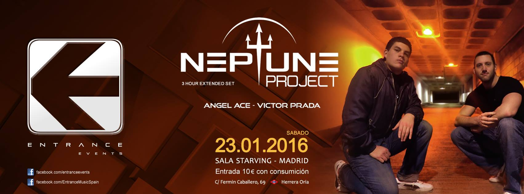 Neptune Project abre el año trancero en Madrid con Entrance