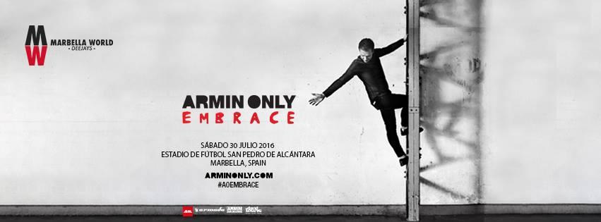 Armin Only Embrace 2016 en España: Armin van Buuren en Marbella [Articulo único]