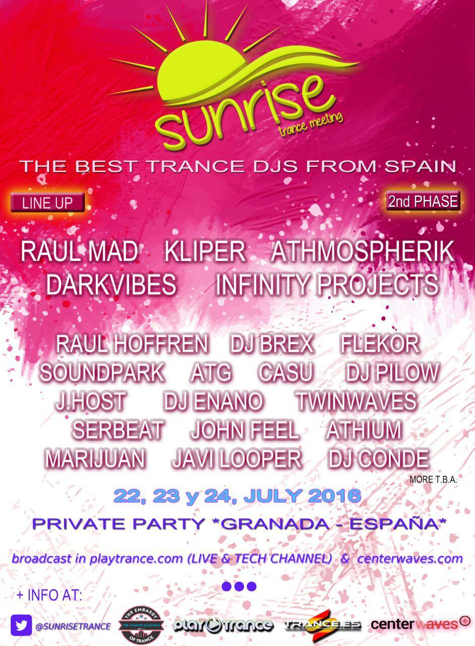 Sunrise Trance Meeting 2016: Vuelve la reunión trancera por excelencia
