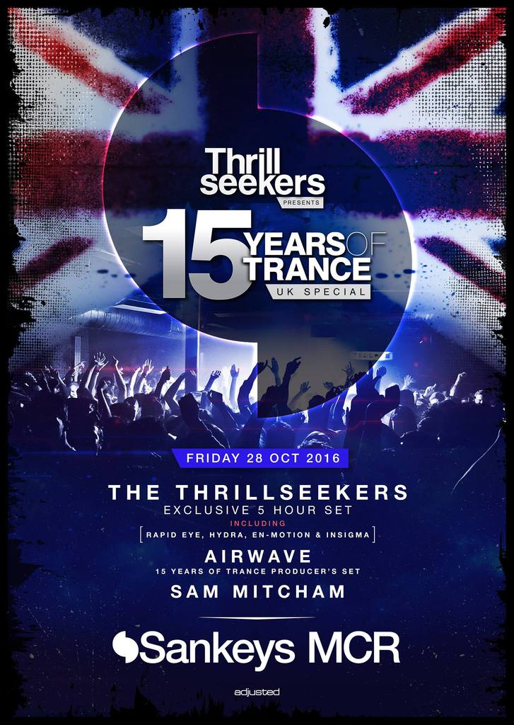 15 años de The Thrillseekers