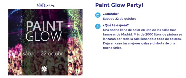Paint Glow Party MADream