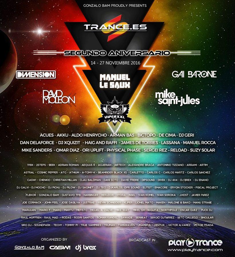 Trance.es Segundo Aniversario final