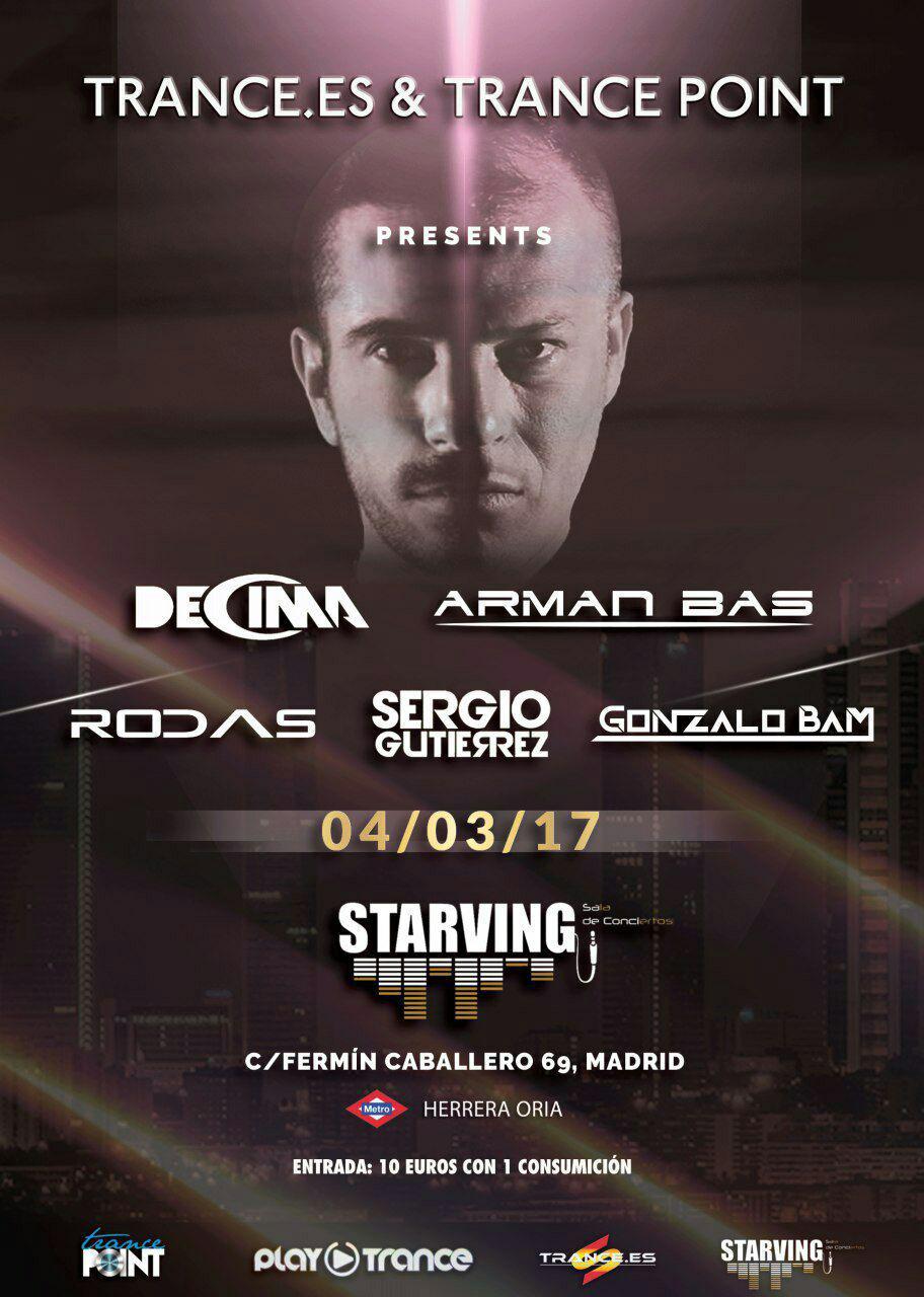 Trance.es y Trance Point te acercan a De Cima y Arman Bas a Madrid