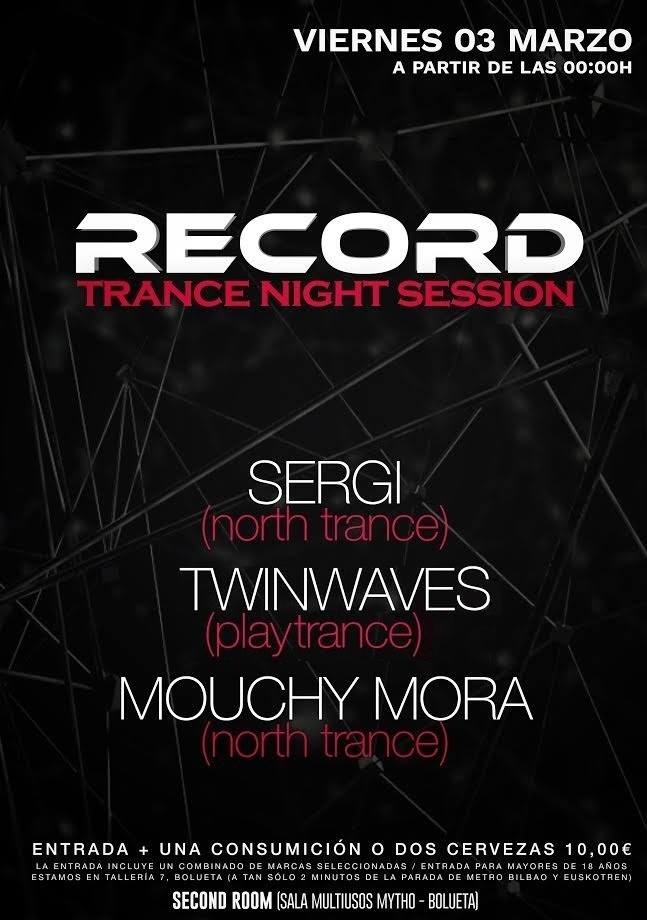Record Trance Night Sessions