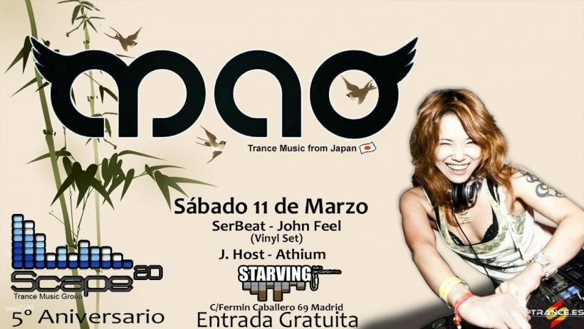 Space 20 con Dj Mao
