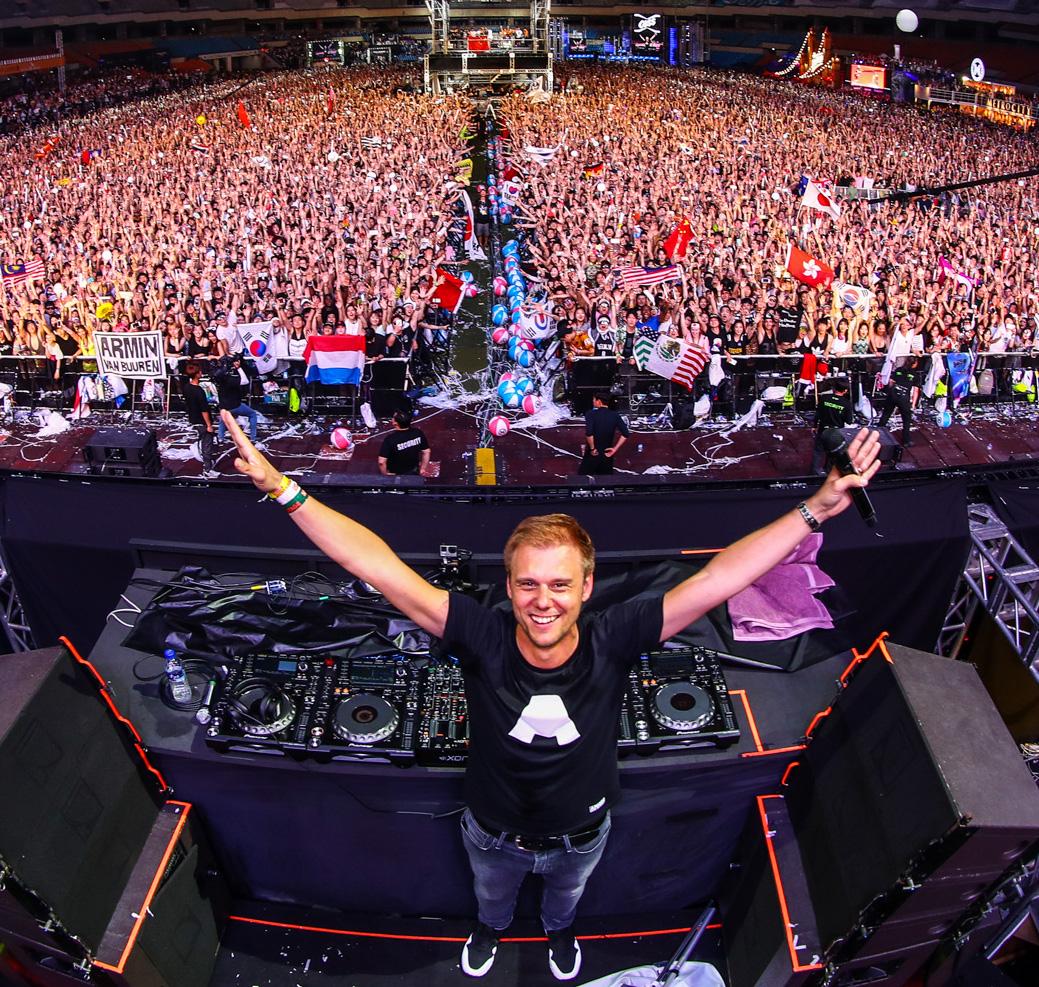 Armin van Buuren, todoterreno musical en su nuevo recopilatorio.