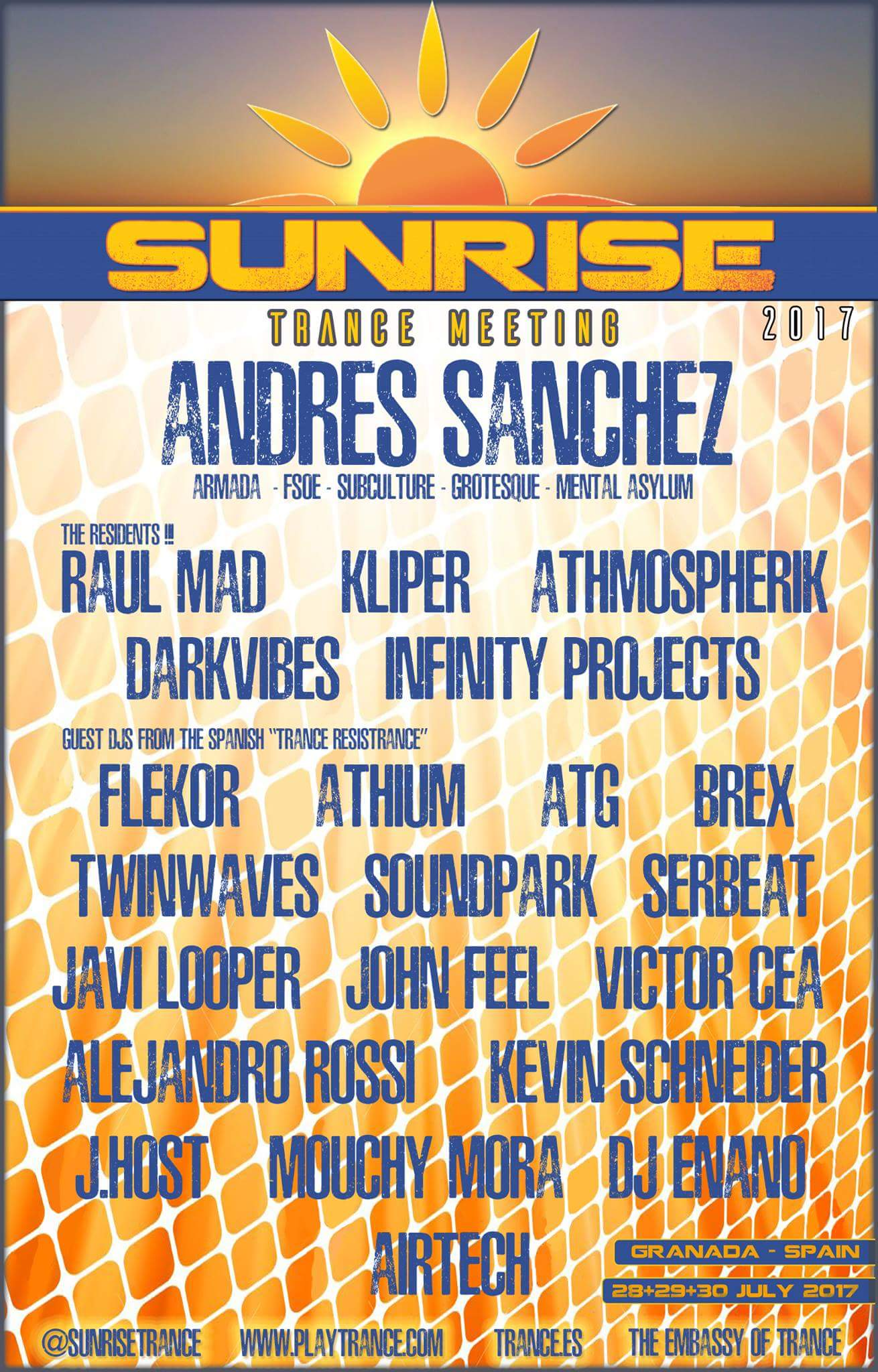 Tercera edición de Sunrise Trance Meeting