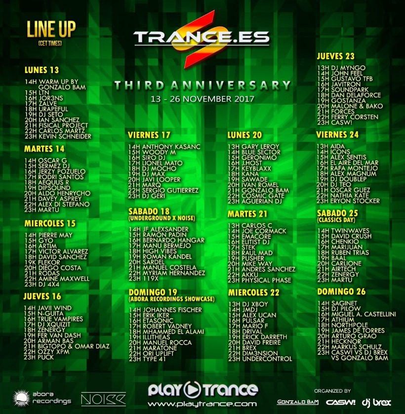 Trance.es third anniversary