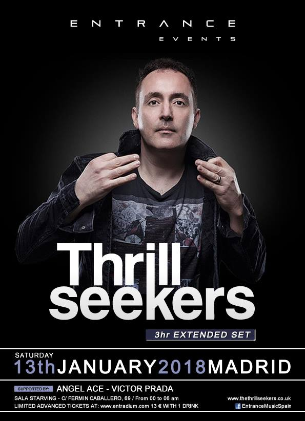 Entrance abre nuevo año con The Thrillseekers por segunda vez en Madrid