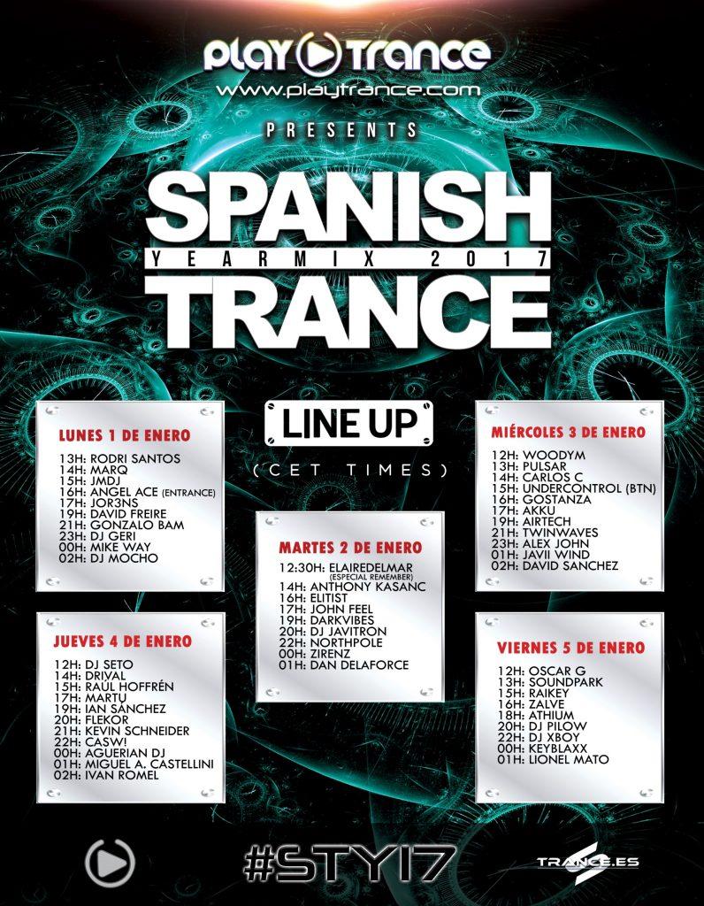 Spanish Trance Yearmix 2017