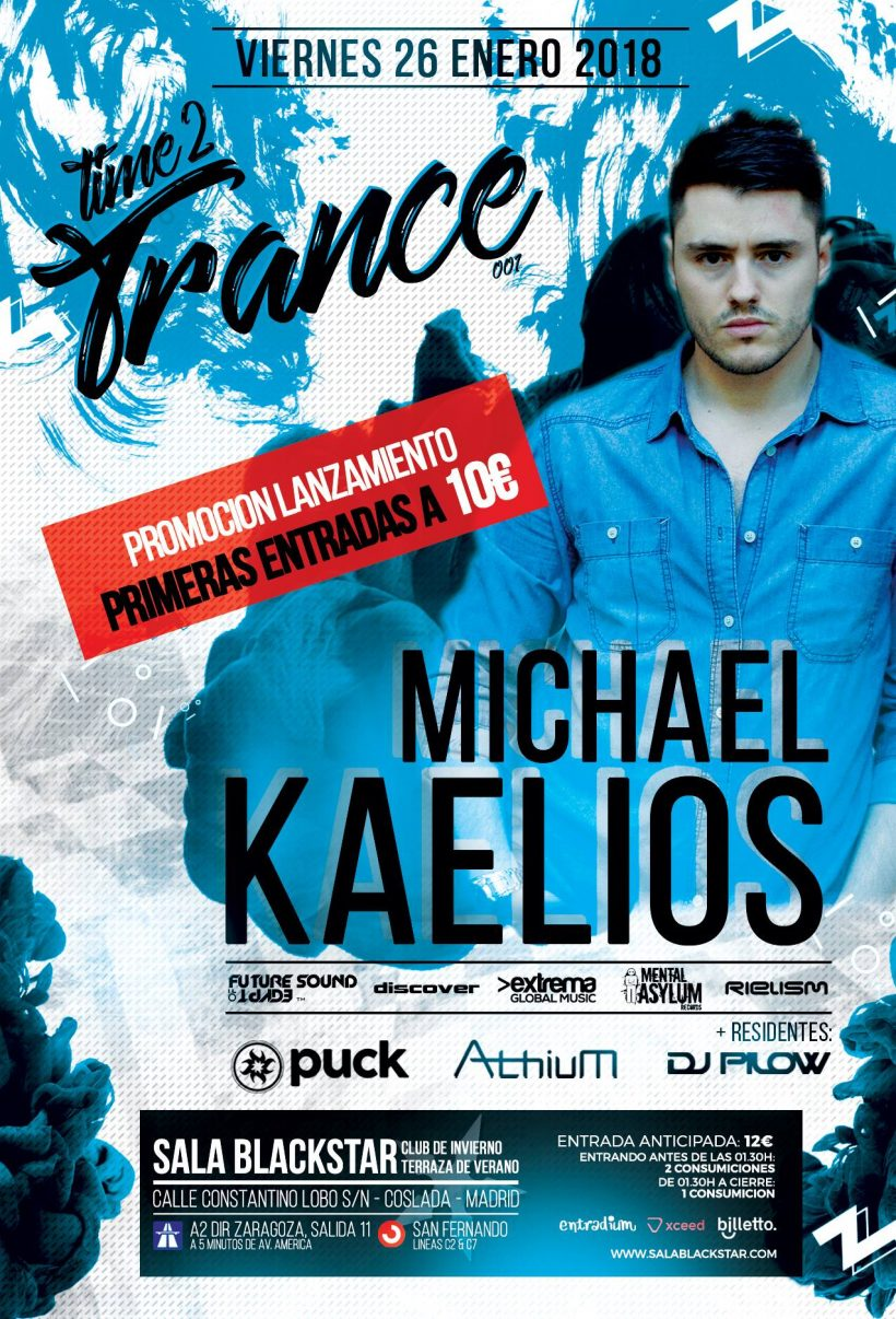 Time2Trance 001 Michael Kaelios