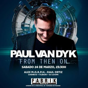 Fabrik vuelve a vestirse de trance para recibir a Paul van Dyk
