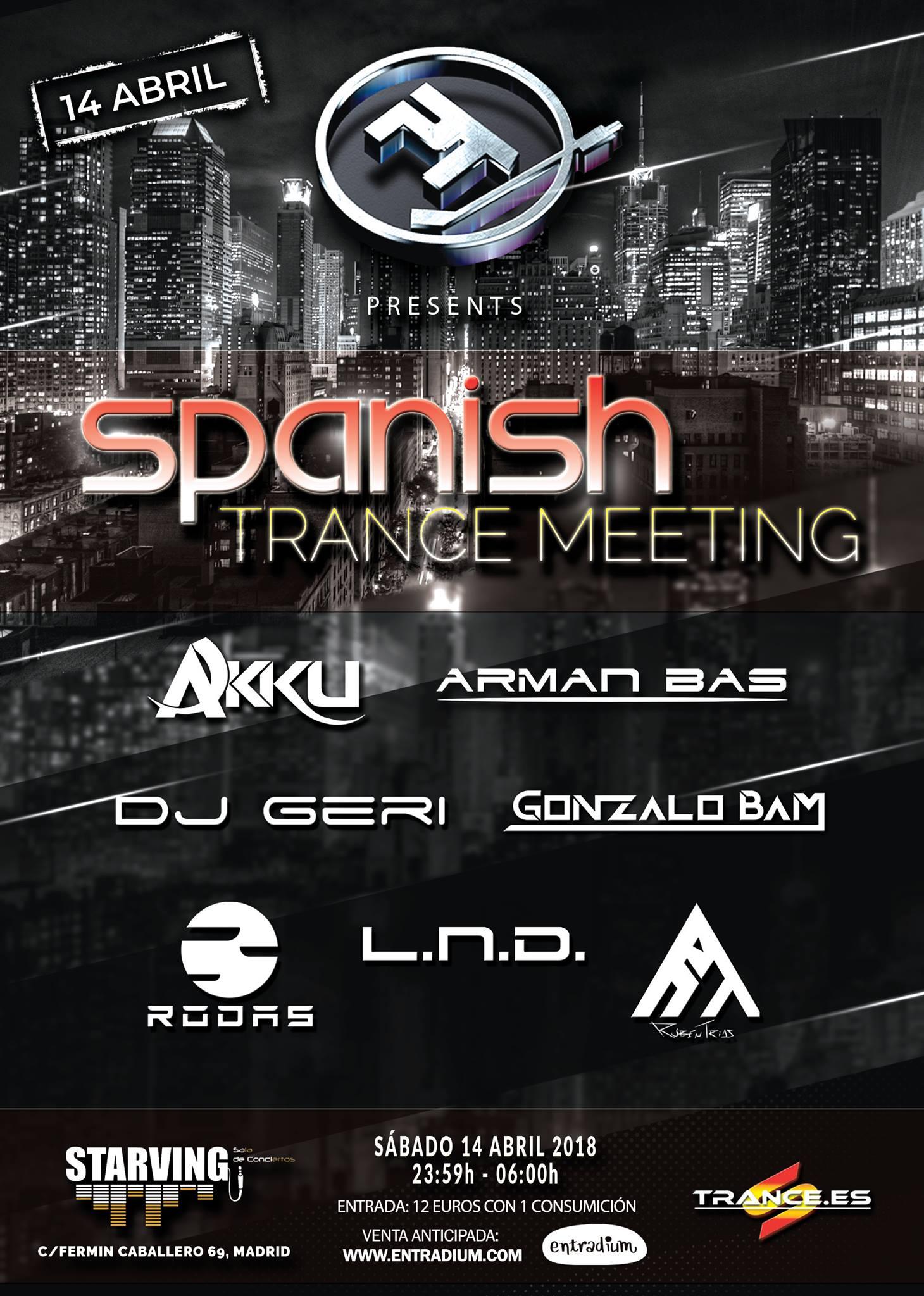 Planeta Trance reúne lo mejor del panorama nacional en la Sala Starving, Madrid