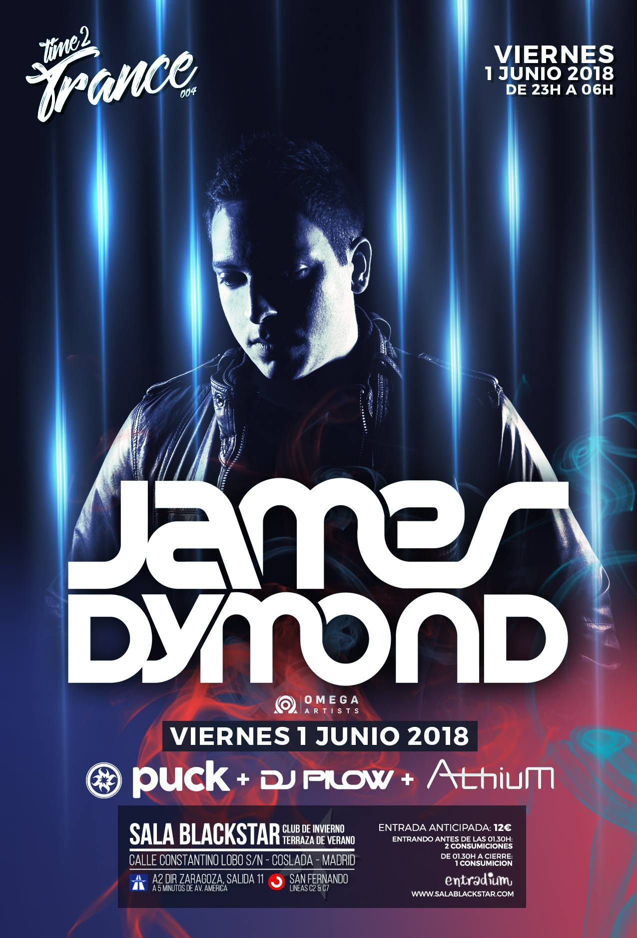 Time2Trance con James Dymond