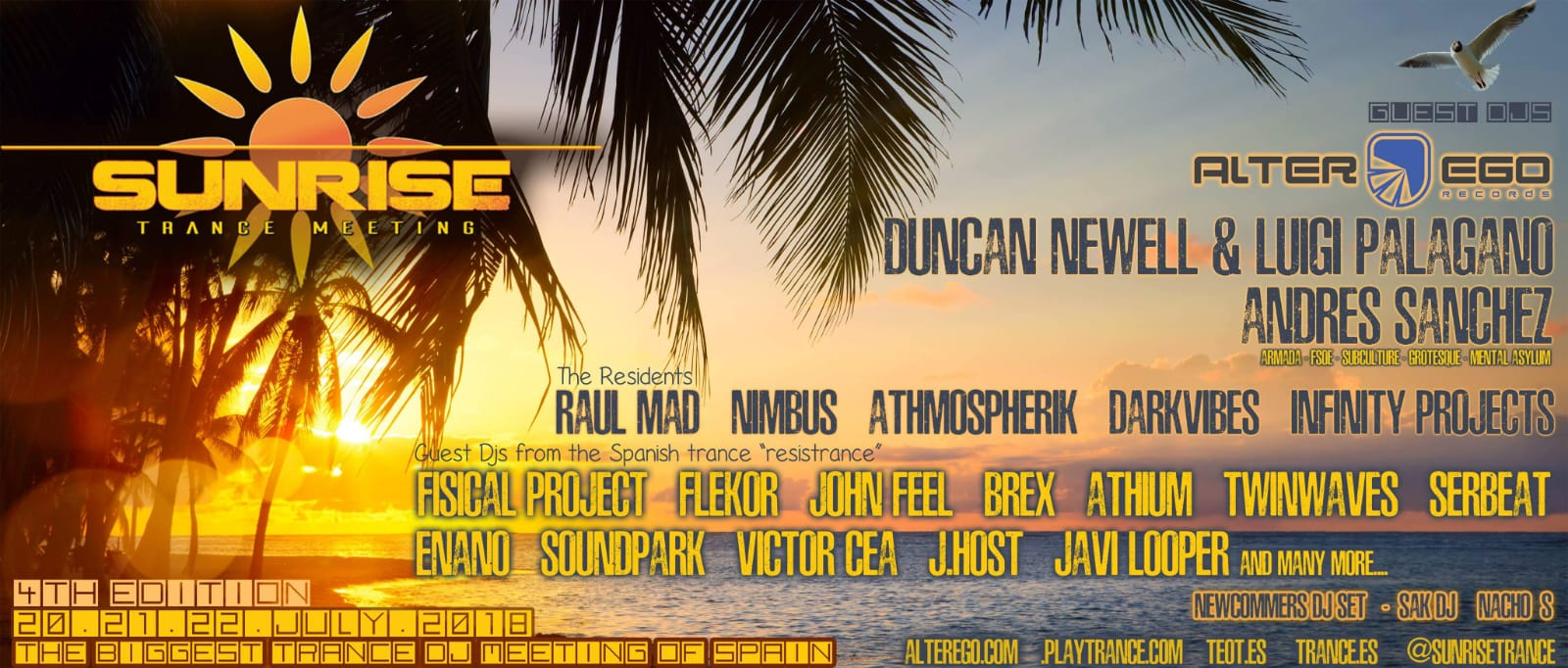 Cuarta edición de Sunrise Trance Meeting