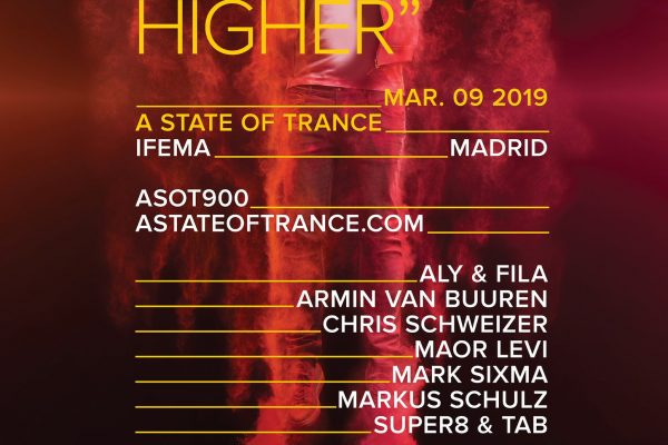 ASOT 900 Madrid Line-up