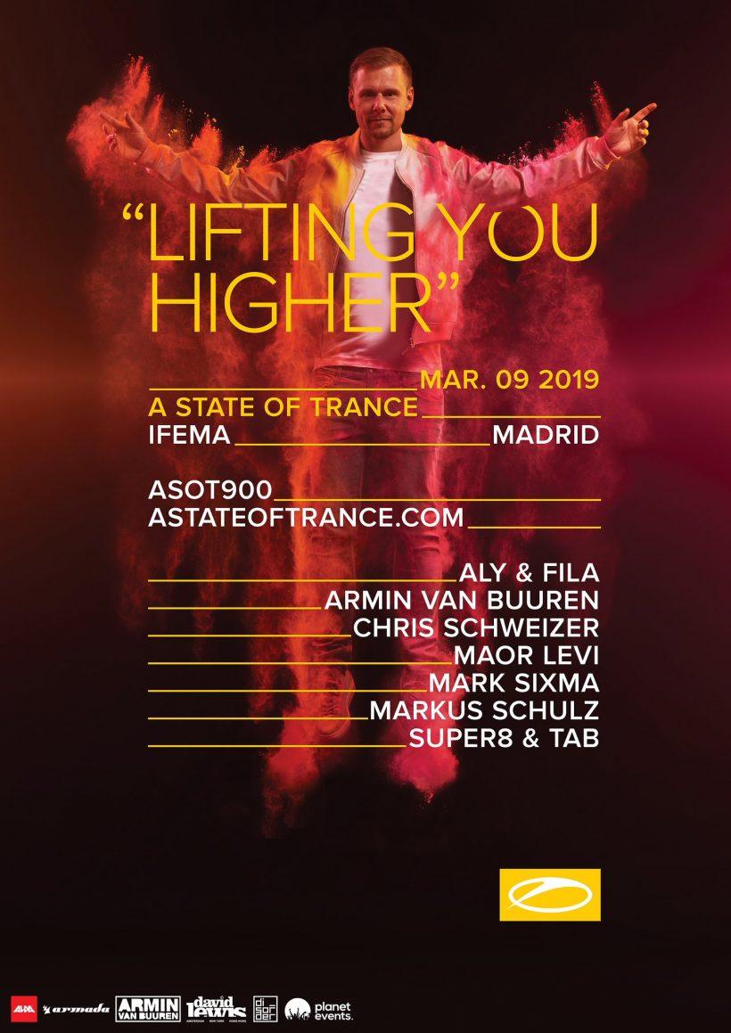ASOT 900 Madrid Line-up