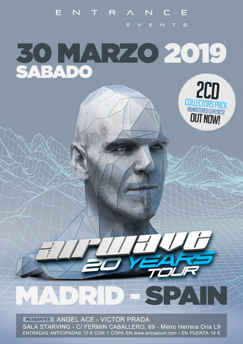 Entrance 8 años con Airwave