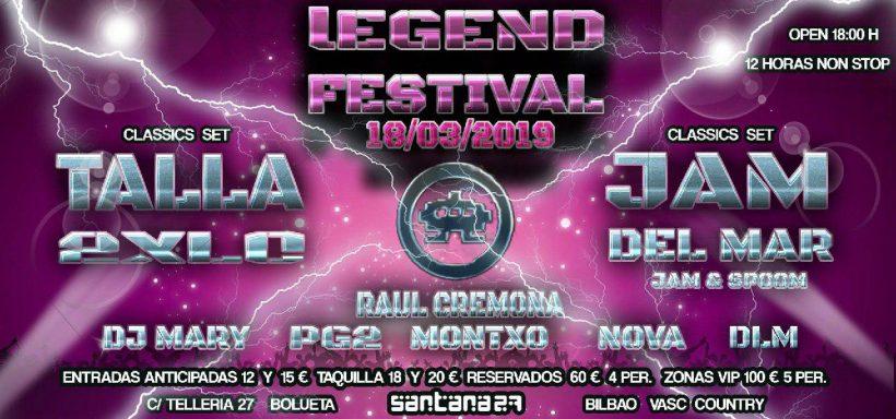 Legend Festival Bilbao 2019