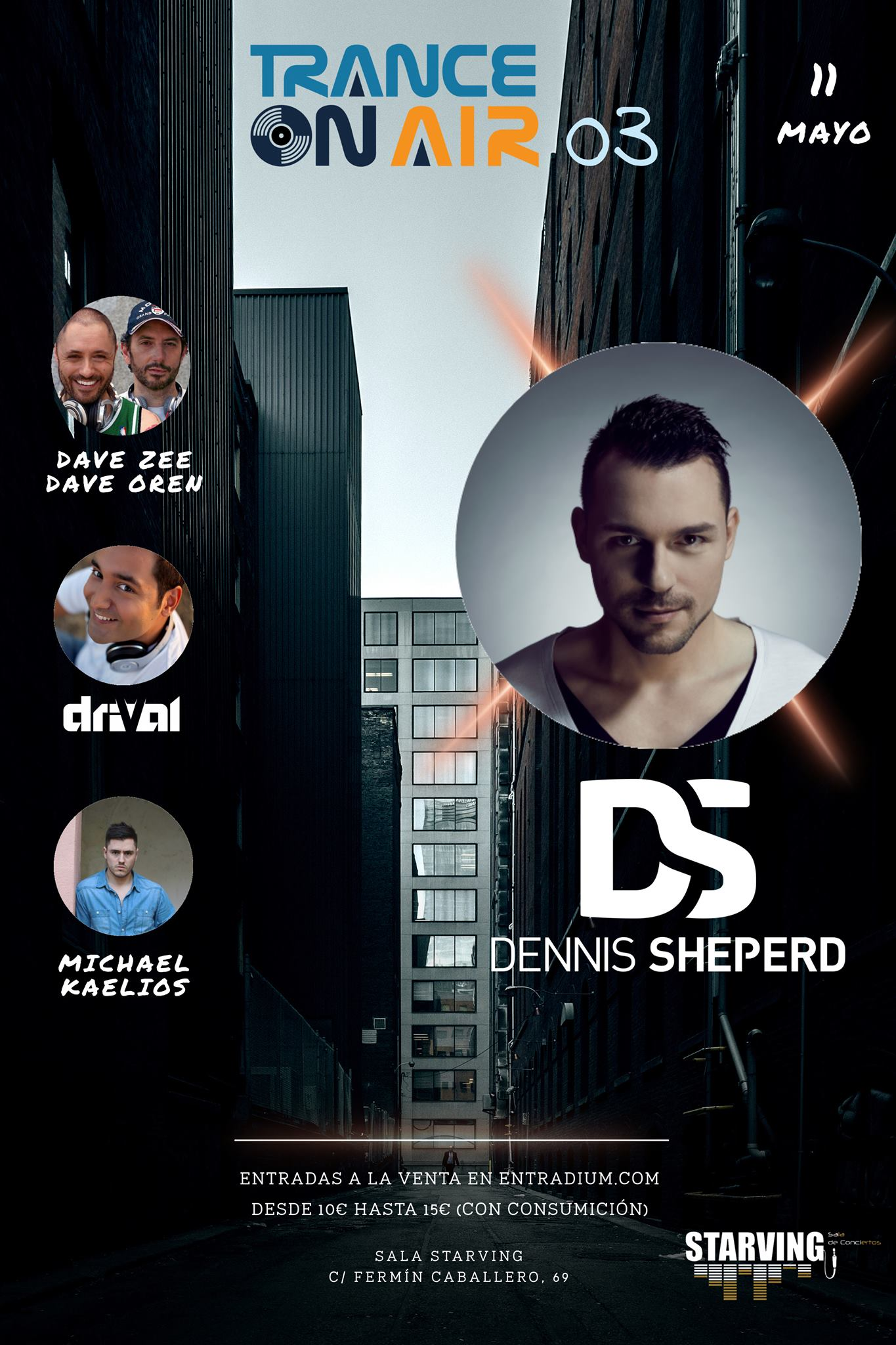 Trance on Air 03 con Dennis Sheperd y Michael Kaelios