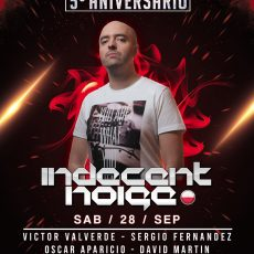 Vertigo celebra su quinto aniversario con Indecent Noise