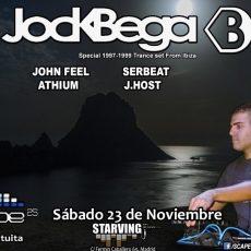 Jock Bega vuelve por una noche a Madrid con Scape