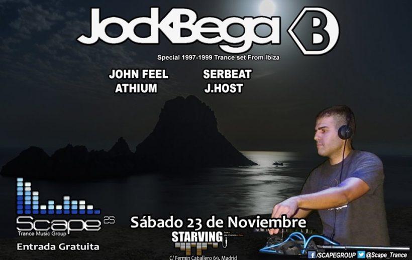 Scape 25 con Jock Bega