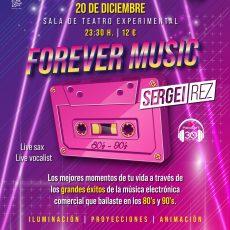 Forever Music, la propuesta musical de los ochenta y noventa llega a Valladolid
