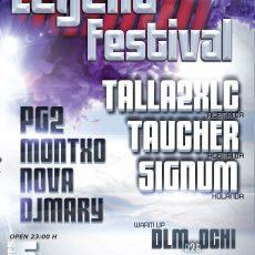 Vuelve Legend Festival con Talla 2XLC, Signum y Taucher